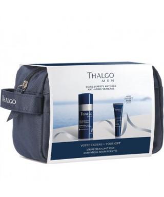 Thalgo men gift regenerativna krema 50ml + krema za oči v torbici