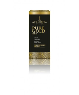 Gold luksuzna očesna krema