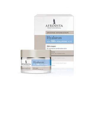 Hyaluron 24 h krema za normalno-mešano kožo